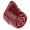 Red Panel Mount Buzzer, 40 mm Diameter, 24