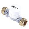 RS PRO Radial Flow Turbine Flow Meter, 0.25