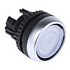 BACO Round Illuminated Push Button Head - Spring