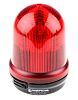 Werma RM 829 Red LED Beacon, 24 V dc, , Multiple Effect, Surface Mount