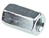 30mm Bright Zinc Plated Steel Coupling Nut, M10