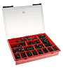 426 piece Steel Screw/Bolt Kit, M6, M8, M10,