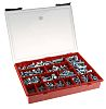 1165 piece Steel Screw/Bolt Kit, M10, M12, M4,