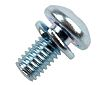 RS PRO M3 x 6mm Zinc Plated Steel