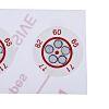 RS PRO Non-Reversible Temperature Sensitive Label, 60°C to