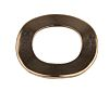 Plain Copper Crinkle Locking & Anti-Vibration Washer, M5