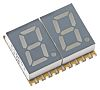 KCDA03-106 Kingbright 2 Digit 7-Segment LED Display, CA