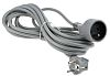 RS PRO 5m Power Cable, CEE 7/7, Schuko
