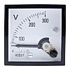 HOBUT AC Analogue Voltmeter, 300V, 45 x 45