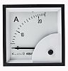 HOBUT D72SD Analogue Panel Ammeter 0/25A Direct Connected