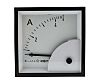 HOBUT D72SD Analogue Panel Ammeter 0/5A Direct Connected
