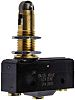 SPDT Roller Plunger Microswitch, 15 A @ 480