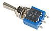 APEM SPDT Toggle Switch, On-Off-On, Panel Mount