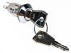 Key Switch, SPDT-NO/NC, 5 A @ 115 V ac 2-Way
