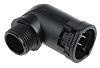 PMA M20 90° Elbow Cable Conduit Fitting, Black