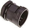 PMA M32 Straight Cable Conduit Fitting, Black 32mm