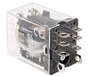 Omron, 12V dc Coil Non-Latching Relay DPDT, 10A