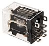Omron, 24V ac Coil Non-Latching Relay DPDT, 10A
