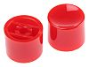 Red Push Button Cap, for use with 8