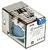 Finder, 12V dc Coil Non-Latching Relay DPDT, 10A