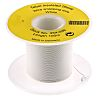 RS PRO White, 0.13 mm² Equipment Wire, 100m