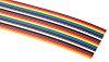 RS PRO 24 Way Unscreened Flat Ribbon Cable,