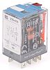 Releco, 115V ac Coil Non-Latching Relay DPDT, 10A