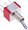 RS PRO DPDT Toggle Switch, Latching, PCB