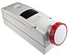 RS PRO IP67 Red Wall Mount 3P+N+E RCD