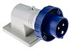 RS PRO IP66, IP67 Blue Wall Mount 2P+E