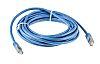 RS PRO Blue Cat6 Cable S/FTP PVC Male