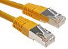RS PRO Yellow Cat6 Cable S/FTP PVC Male