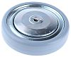 Tente Grey Rubber Trolley Wheel, 100kg