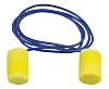 3M E.A.R Reusable Blue, Yellow PVC Corded Ear