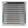 Silver Aluminium Vent Grille, 497 x 497mm
