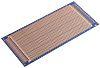 10-2857, Double-Sided Stripboard Epoxy Glass 220 x 100