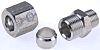 S/steel stud coupling,1/8in BSPT Mx8mm