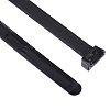 HellermannTyton Black Cable Tie Nylon, 210mm x 8