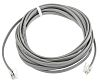 RS PRO Grey 3m Telephone Extension Cable RJ9