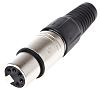 RS PRO 5 Way Cable Mount XLR Connector,