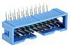 Embase pour CI TE Connectivity, AMP-LATCH, 20 pôles , 2.54mm, 2 rangées , 1.0A, Angle droit