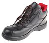 RS PRO Black Women Toe Cap Safety Trainers,