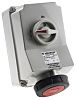 MENNEKES Switchable IP67 Industrial Interlock Socket 3P+E,