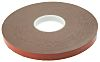 Hi-Bond VST4110G-19 Grey Foam Tape, 19mm x 33m,