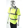 Dickies Yellow Men Hi Vis Polo Shirt, M