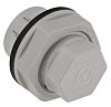 Lapp M20 Plug, Polyamide, Unthreaded, IP68