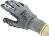 Mapa Ultrane, Black Nitrile Coated Reusable Gloves, Size