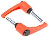RS PRO Clamping Lever, M12 x 50mm