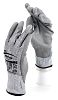 Ansell Hyflex, Grey Polyurethane Coated Work Gloves, Size