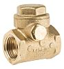 RS PRO Brass Single Non Return Valve 1/2 in BSPP